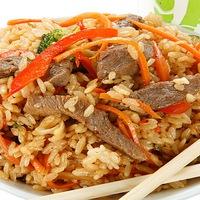 Как сделать вок из риса