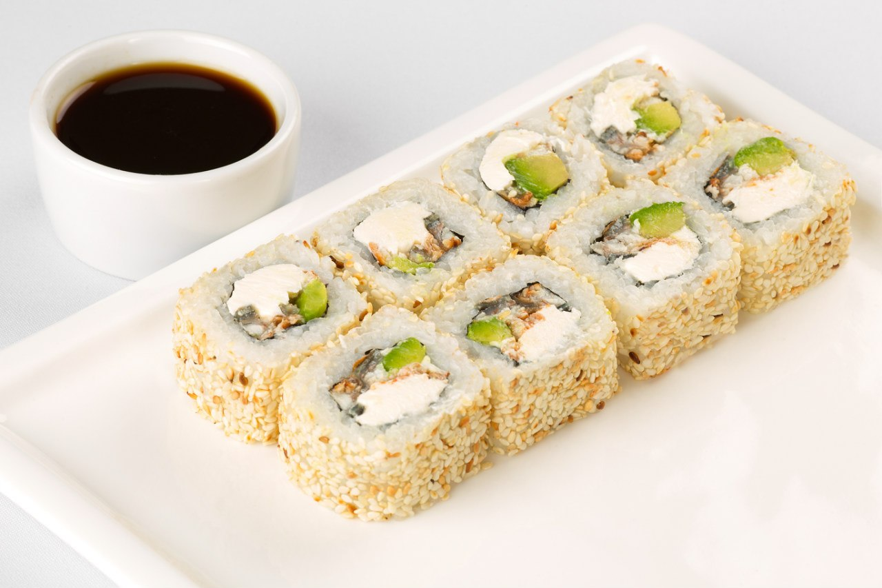 Фото как приготовить суши с кунжутом в домашних условиях рецепт